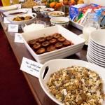 Newton House Breakfast Buffet